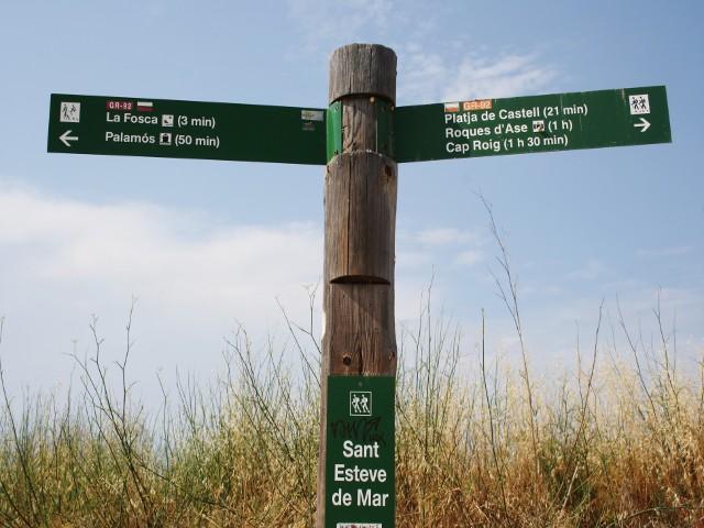 Camino de Ronda la Fosca-Cap Roig