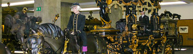 Funeral Carriage Museum in Barcelona