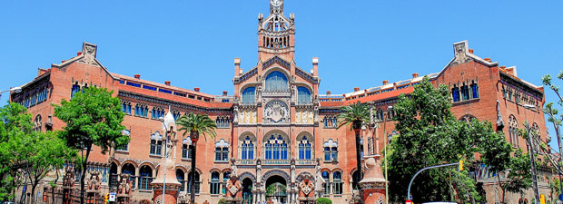 Hospital Sant Pau - Main building